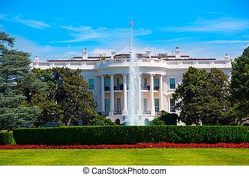 The White House in Washington DC USA