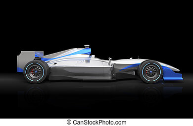 Generic F1 car - A car with no brand name is designed and...
