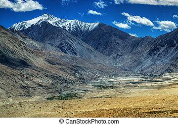 Landscape of Ladakh, Jammu and Kashmir, India - Rocky...