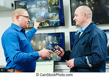 Security video surveillance - security executive chief...