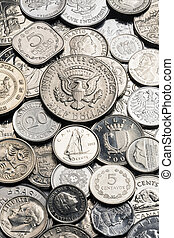 Collection of old Silver Coins - A collection of old silver...