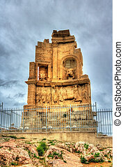 The Philopappos Monument in Athens - Greece