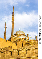 The Mosque of Muhammad Ali in Cairo - Egypt