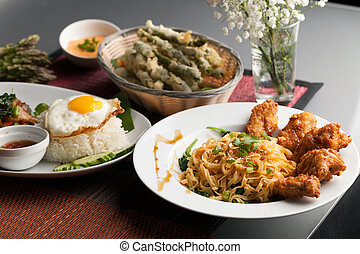 Variety of Thai Foods