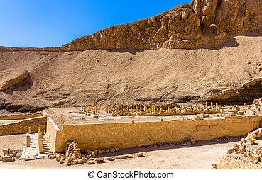 ruínas, de, a, necrotério, Templo, de,...