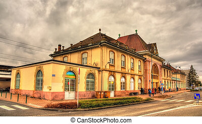 Railway station of Saint Louis - Alsace, France