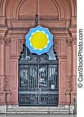 Casa Rosada building at Mayo square - Casa Rosada building...