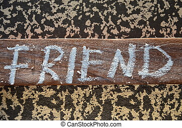 fiend  - friend word