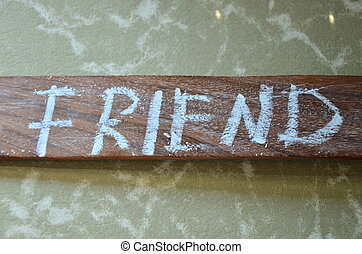 friend - fiend word