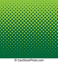 linear halftone tone background green