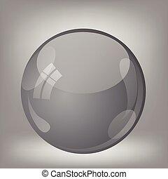 grey sphere