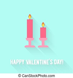 Valentines Day card - Valentines Day greeting card Love...