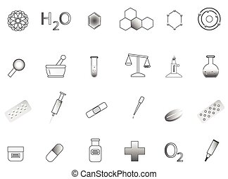 Chemistry icon - Illustration of chemistry icon