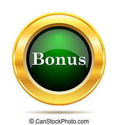 Bonus icon Internet button on white background
