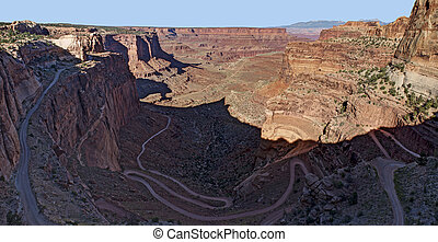 Shafer Trail, Canyonlands National Park