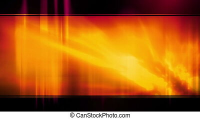 Template Orange and Black Loop - Animated Backdrop Template...