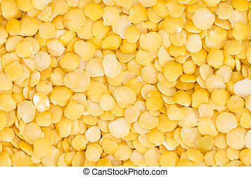 Yellow Lentils background image - Heap of yellow Lentils...