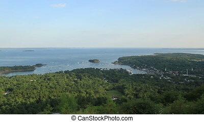 Main Harbor and Country Side - Scenic View Main Harbor and...