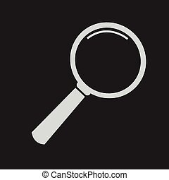 Magnifying Glass Icon,  magnifying glass,  search icon
