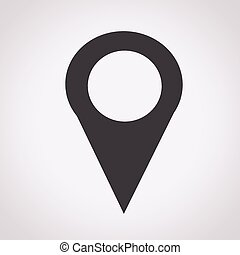 Map Pin Icon , mapping pins icon ,  map pin,