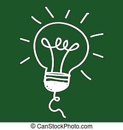 Light bulb and LED lamp , Bulb Icon , bulb, idea icon, light...