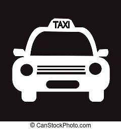 Taxi Car Icon