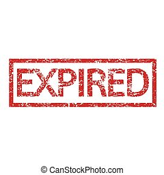 expired stamp word