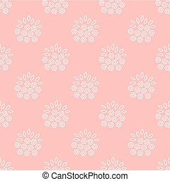 bouquet of flowersn pattern - Seamless pattern with bouquet...