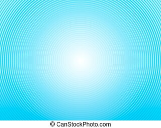 abstract light blue background made of semi circles