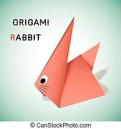 Rabbit origami