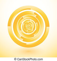 yellow circles rotate to lost