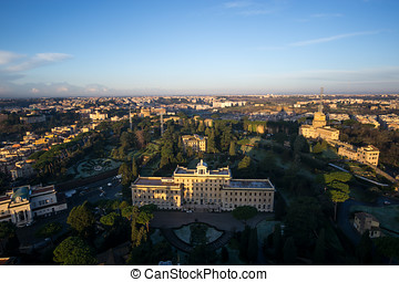 Rome in the morning