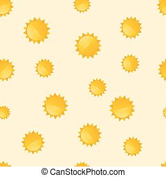 background with the motif of suns