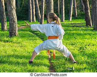 Karate in nature