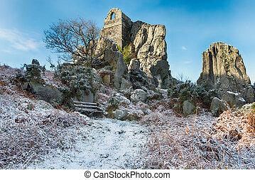 Roche Rock in Cornwall