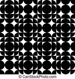 Seamless Geometric Background - Vector Abstract Seamless...