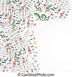 注釋, 音樂, 框架