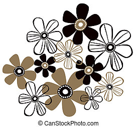 simple flower pattern - a beautiful drawing of simple flower...