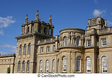 Blenheim Palace, Woodstock, England - British landmark