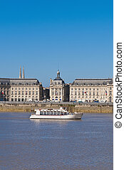 Palais de la Bourse at Bordeaux, France - Palais de la...