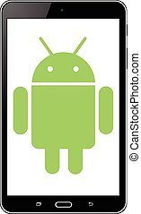 android operationg system - Tablet with android operationg...