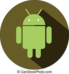android operationg system icon