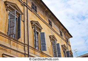 Historical palace Piacenza Emilia-Romagna Italy