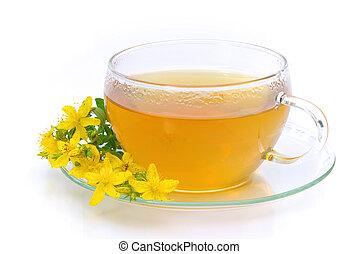 tea St Johns wort 14