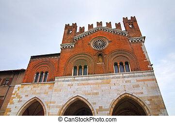 Gothic Palace Piacenza Emilia-Romagna Italy