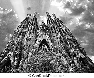 Sagrada Familia by Gaudi Spain