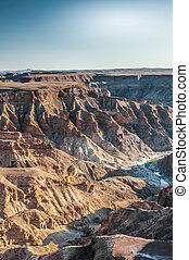 Fish River Canyon - A view to the Fish River Canyon in...