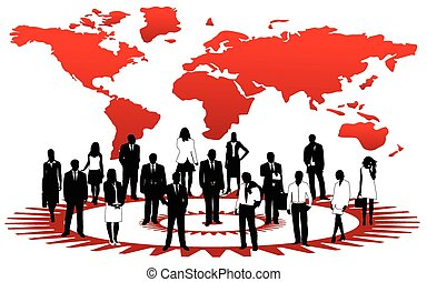 Business people - Illustration of business people