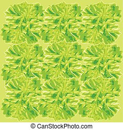 parsley background pattern - an illustration of a seamless...