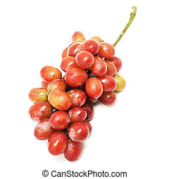 grape fruit - Fresh grape fruit isolated on white background...